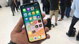 Mirá cuánto sale fabricar el iPhone X