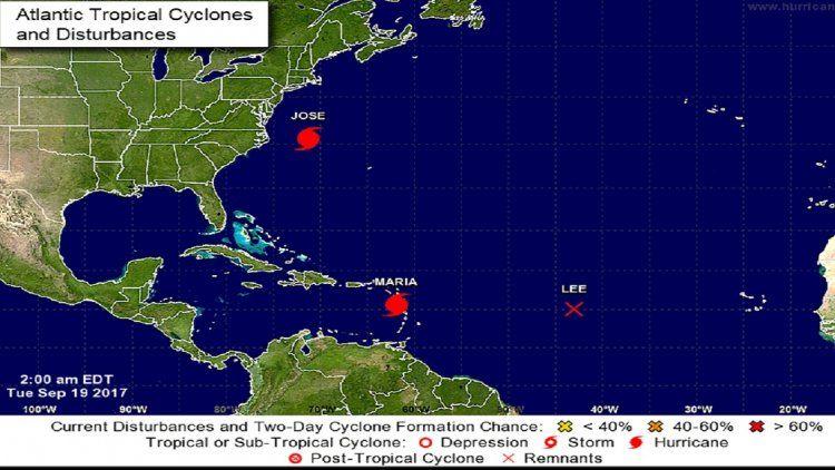 Huracán María en el Caribe