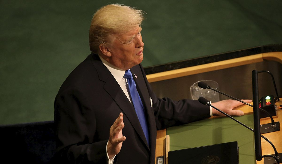 Trump amenazó con destruir totalmente a Corea del Norte