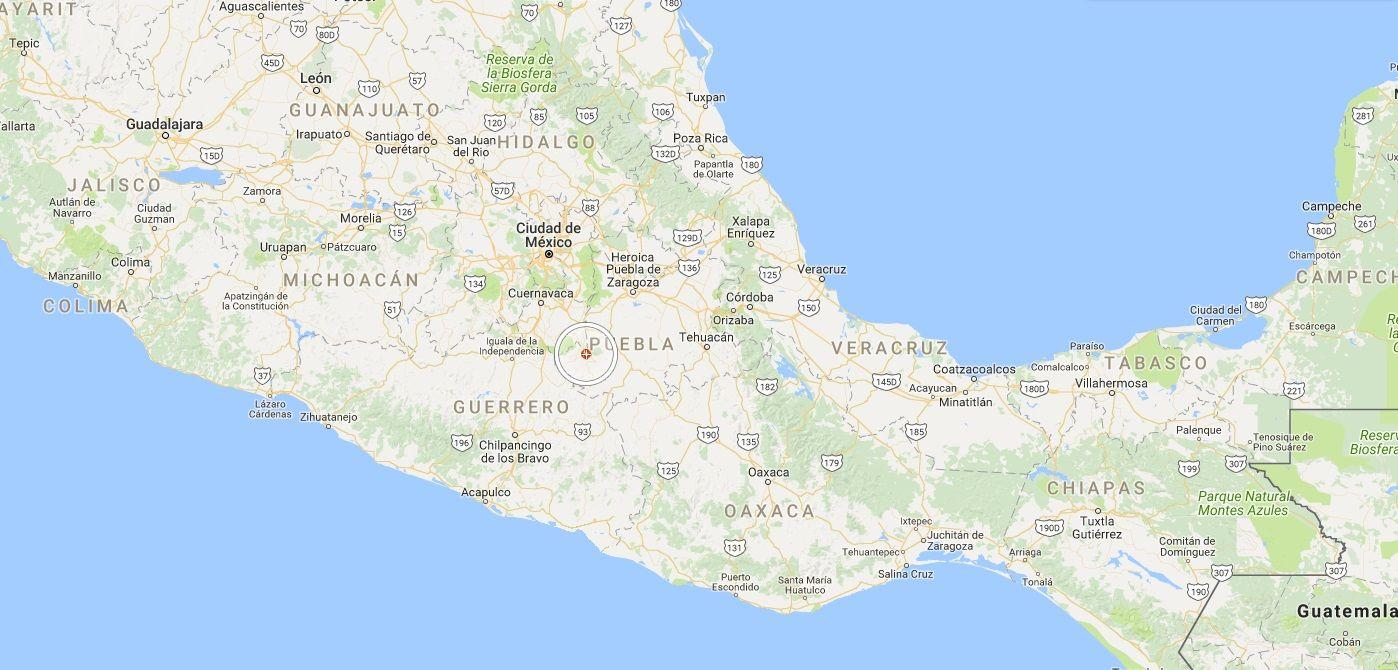 El epicentro fue en Morelos