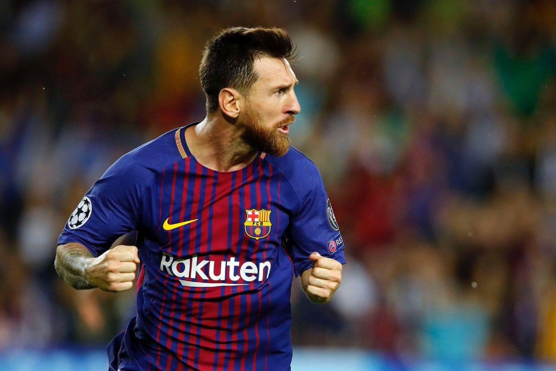 Lionel Messi convirtió cuatro goles ante elEibar