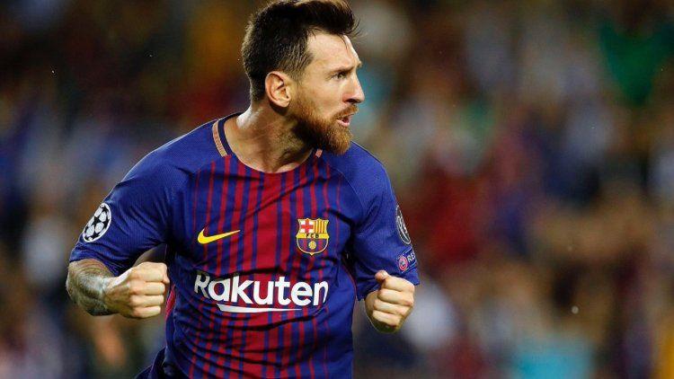 50529d5c26bfb Leo estuvo imparable y su equipo le ganó 6 a 1 al Eibar en el Campu Nou.  Los catalanes se mantienen en la cima de la Liga de España. Lionel Messi ...