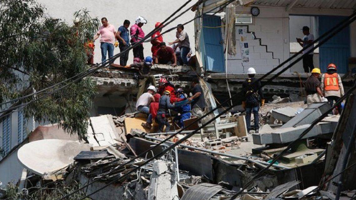 Así quedó Ciudad de México tras el fuerte sismo: mirá las fotos más impactantes