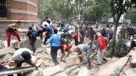 Imágenes del terremoto de México del 19 de septiembre de 2017