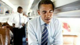 Barack Obama tuiteando