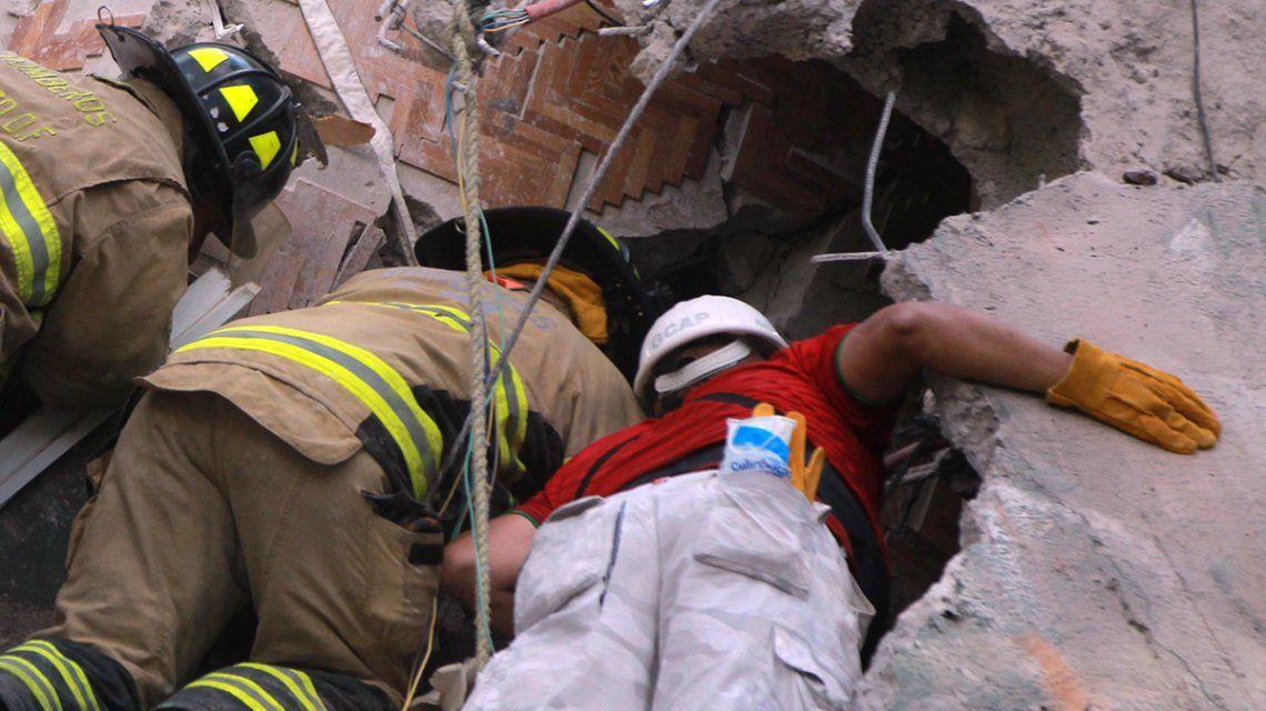 Terremoto en México: los rescatistas están muy cerca de salvar a Frida