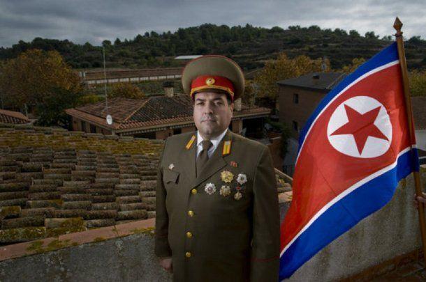 Alejandro Cao de Benós, portavoz del régimen norcoreano