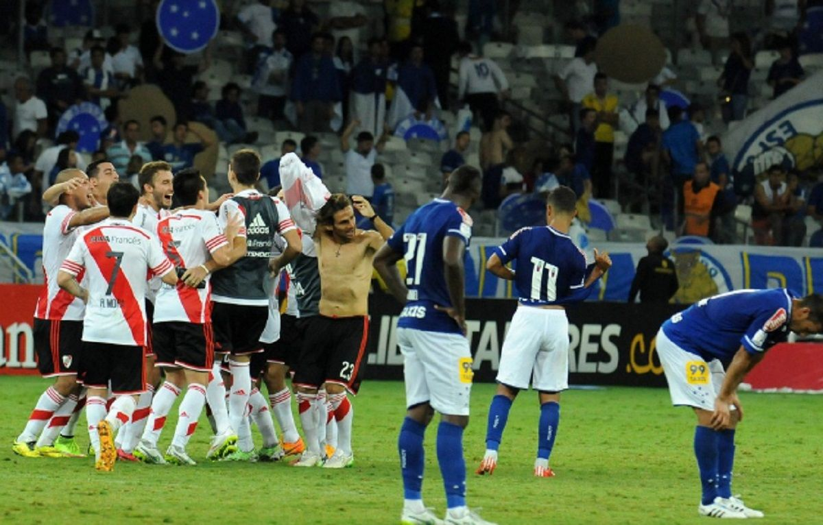 La remontada ante Cruzeiro luego valió una Libertadores