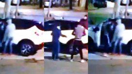 VIDEO: Llegaban a su casa y delincuentes les robaron la camioneta a punta de pistola