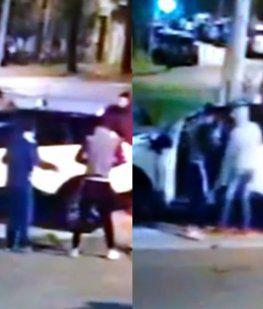 Llegaban a su casa y delincuentes les robaron la camioneta a punta de pistola