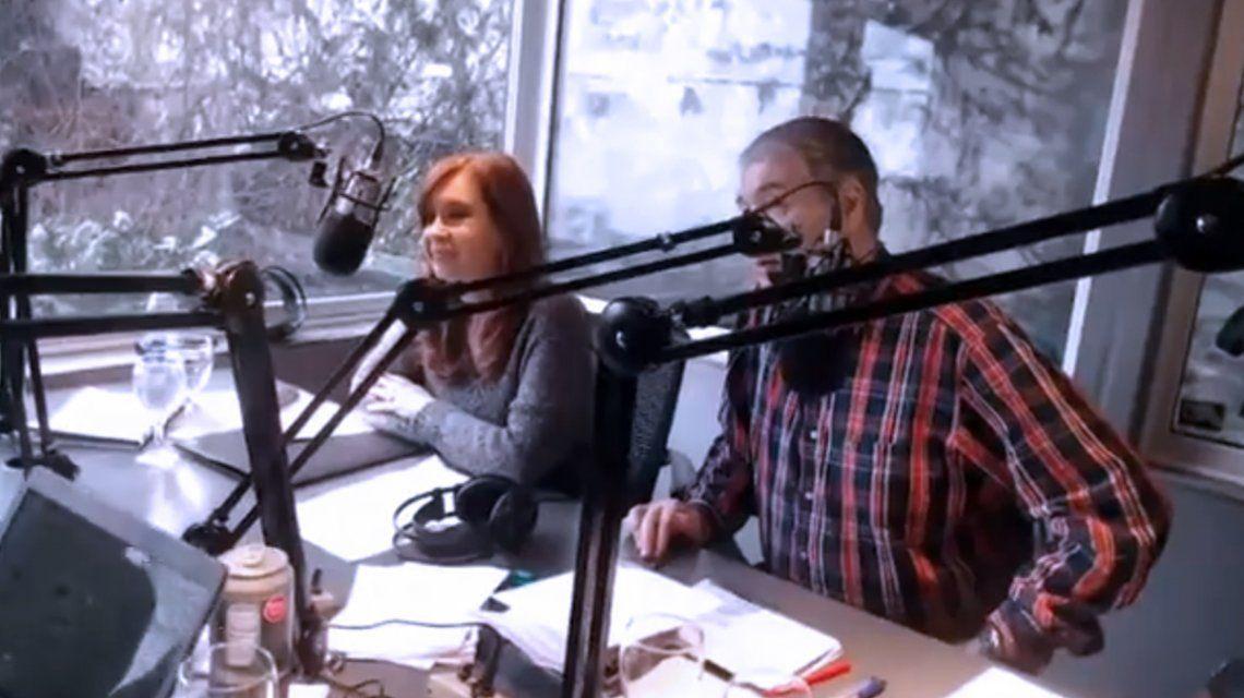 La entrevista de Cristina Kirchner con Víctor Hugo Morales
