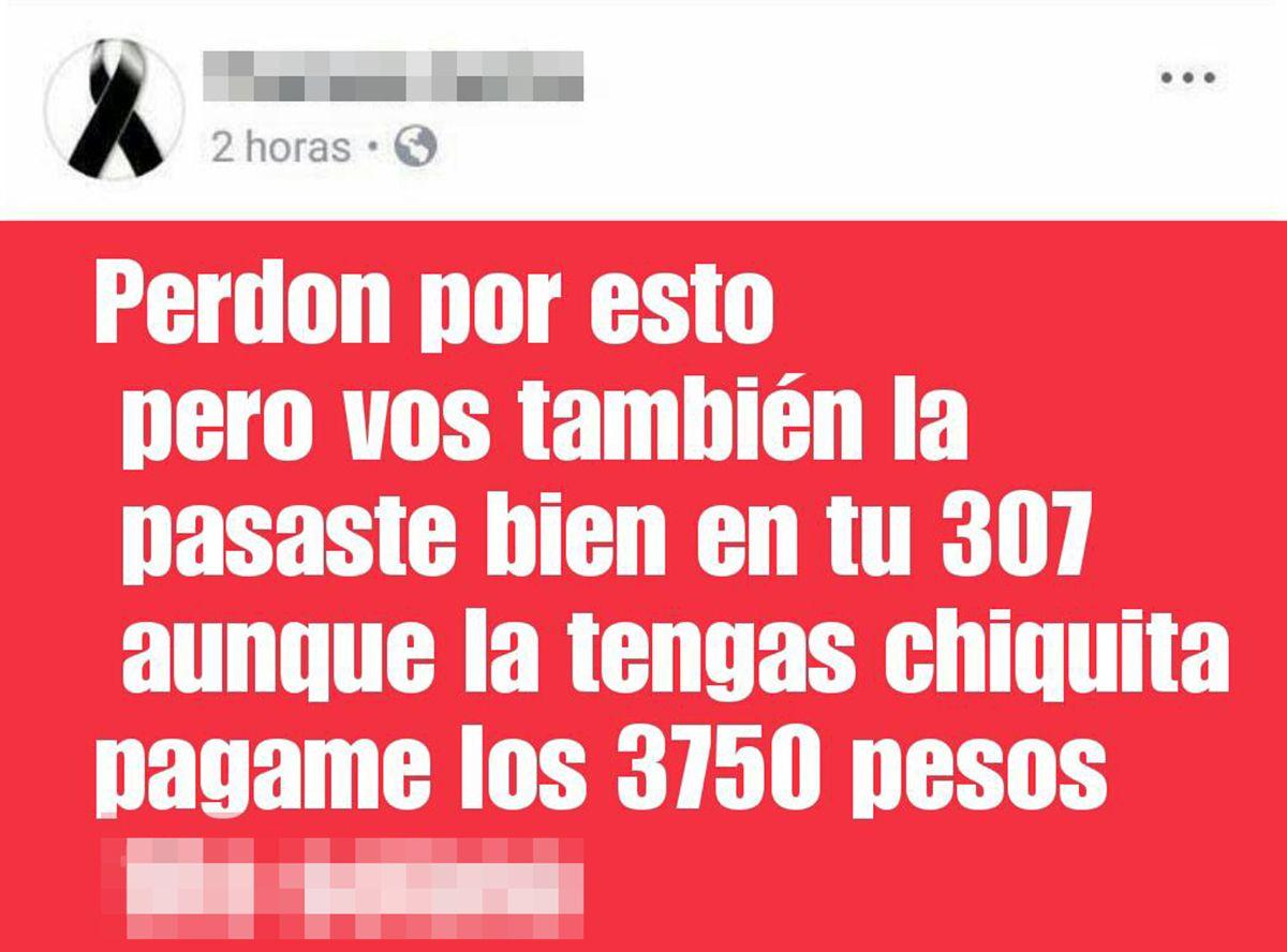 Una travesti escrachó por Facebook a clientes que no le pagaron