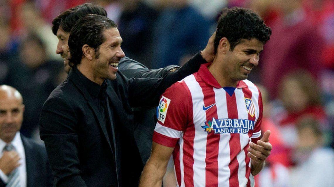 El delantero ganó cuatro títulos en el Atlético