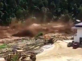 Inunación en Laos