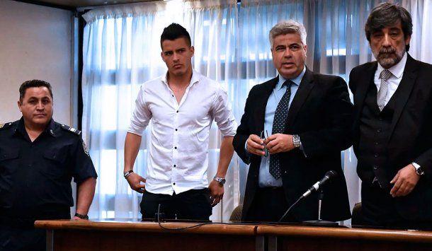 <p>Alexis Zárate fue condenado a seis años y seis meses de prisión por haber violado a Giuliana Peralta.</p>
