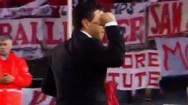 El conmovedor gesto de Gallardo con sus jugadores en plena ovación del público de River
