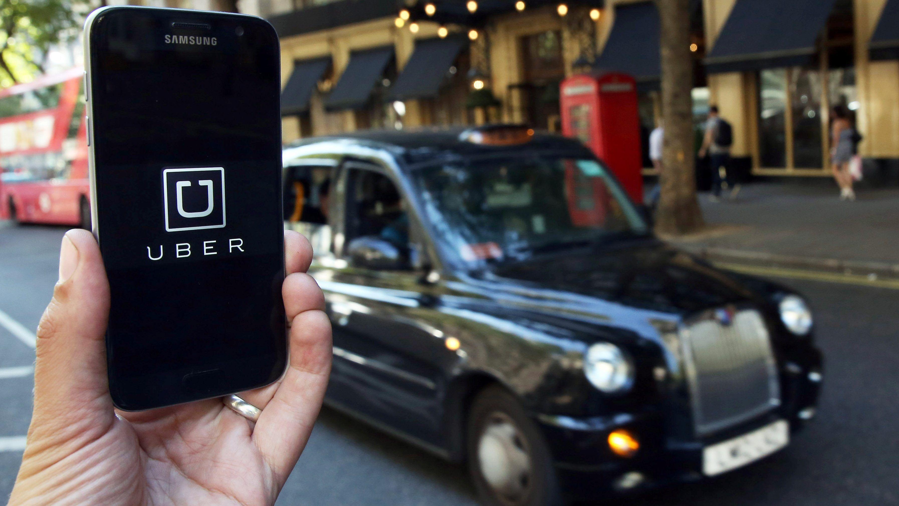 Uber tiene en Londres una de sus mayores bases