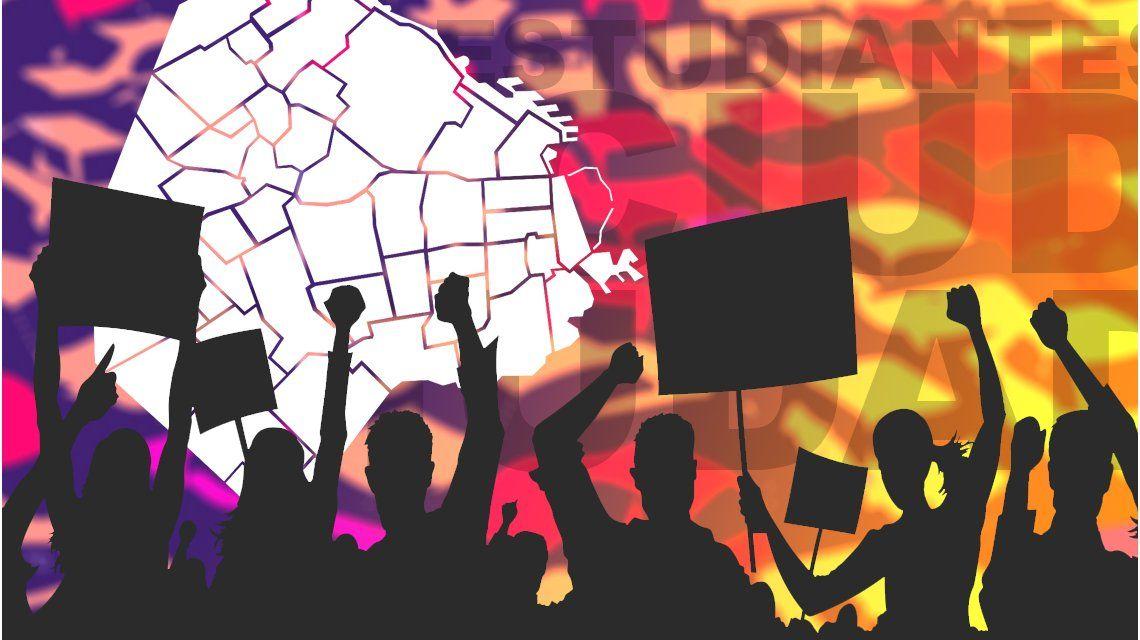 ¿Dónde es la marcha de los estudiantessecundarios contra la reforma?
