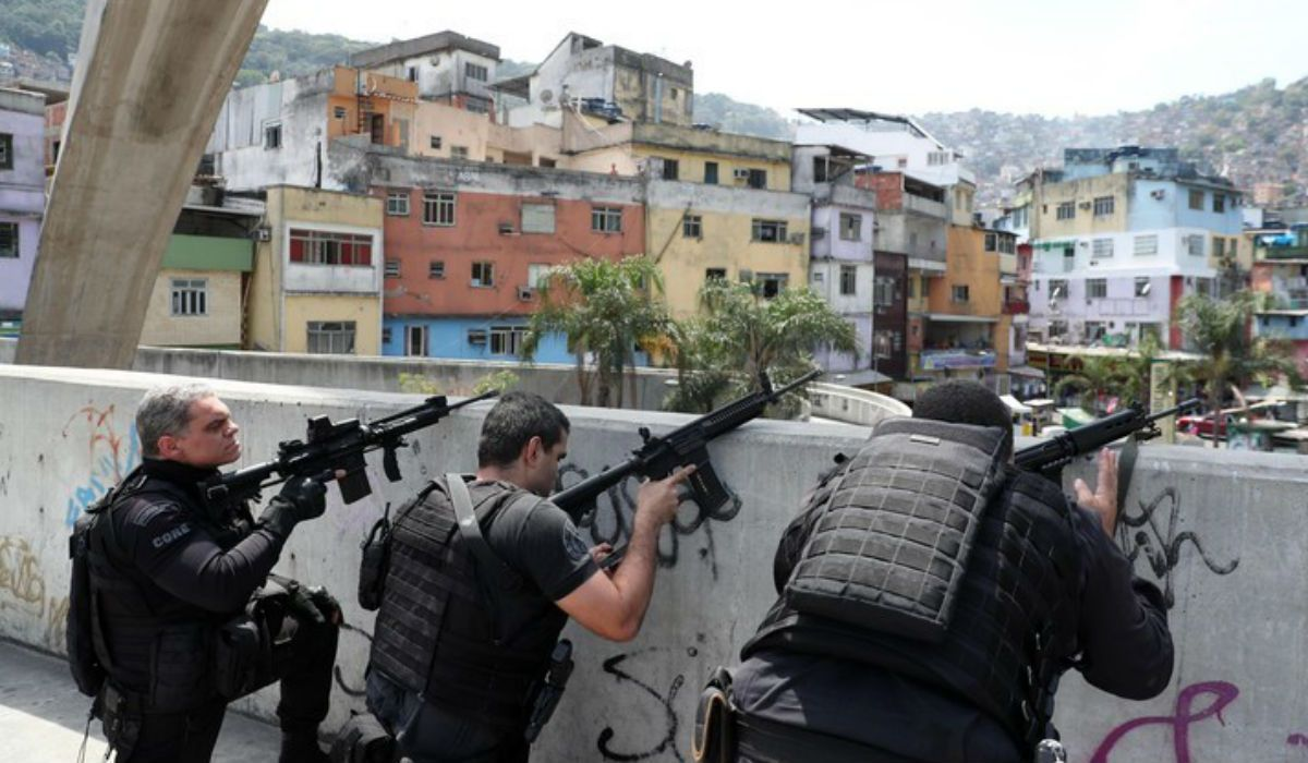 El ejército en la Favela