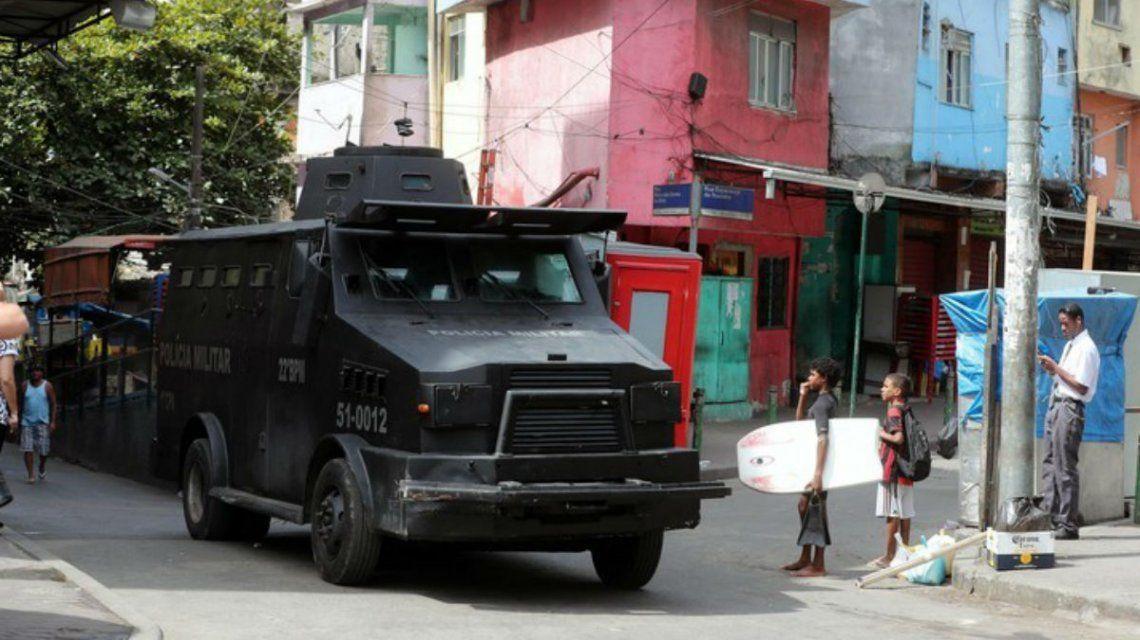 Así ingresó el Ejército a la Favela