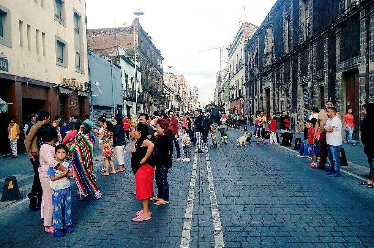 Este sábado hubo alerta de sismo en la Ciudad de México