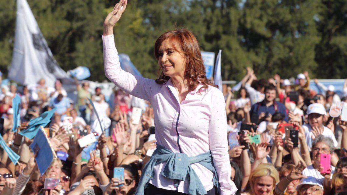 Cristina convocó a las mujeres a decirle no al ajuste
