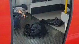 Ataque con ácido en la estación de trenes de Londres: 6 heridos