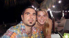 Mariano Sartorato, el hombre baleado en una entradera y su esposa Carolina