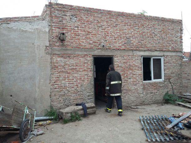 Un nene rescató a sus hermanos de un incendio - Crédito: @BahiaMiCiudad<br>
