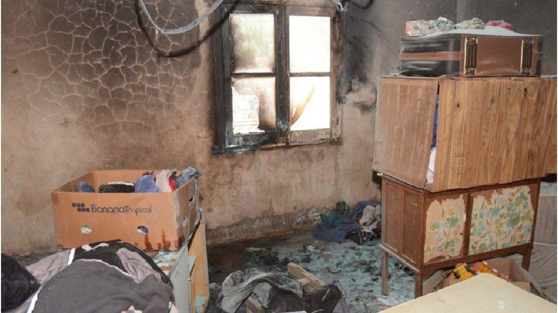 Un nene rescató a sus hermanos de un incendio - Crédito: lanueva.com