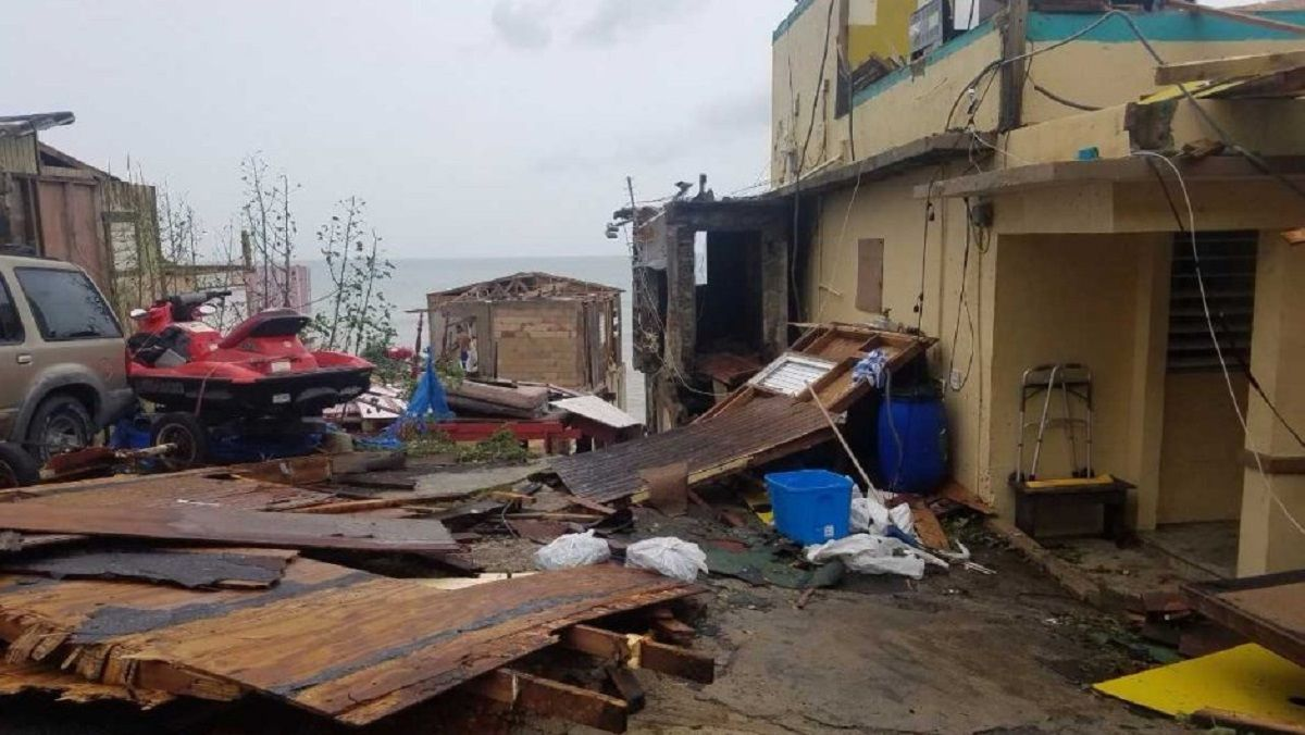 El antes y después del huracán María: mirá como quedó destruido el barrio de Despacito