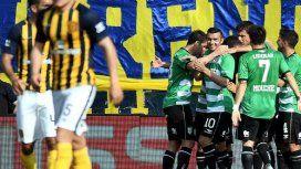 Banfield goleó a Rosario Central - Crédito: @TNTSportsLA
