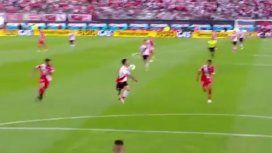 La polémica de la fecha: ¿hubo mano de Scocco antes del gol de Pity Martínez?
