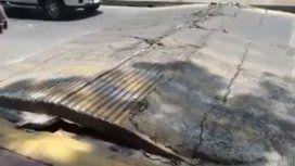 La tierra respira: video viral durante el terremoto en México