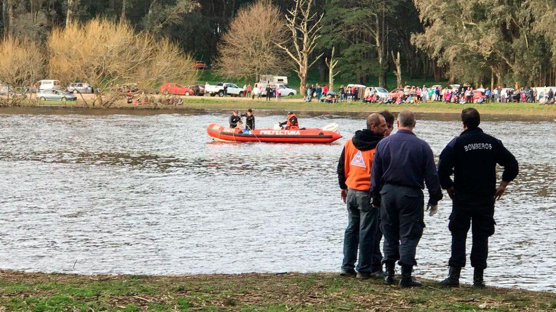 MAR DEL PLATA: Hallaron el cuerpo del joven que cayó del kayak en la Laguna de Los Padres