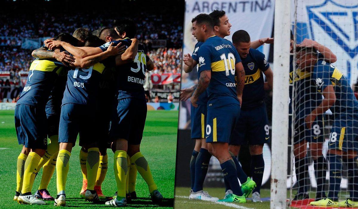 Diciembre de 2016 / Septiembre de 2017: Boca sigue reinando