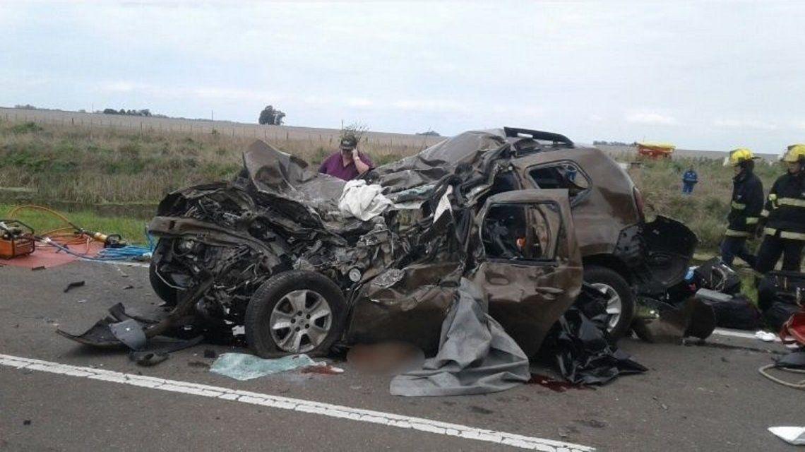 SANTA FÉ: Violento choque frontal en ruta 33: tres muertos y dos heridos