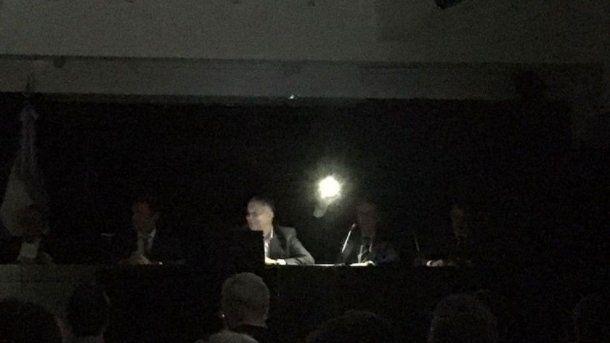 Corte de luz en el Ministerio de Hacienda - Crédito: El Cronista<br>