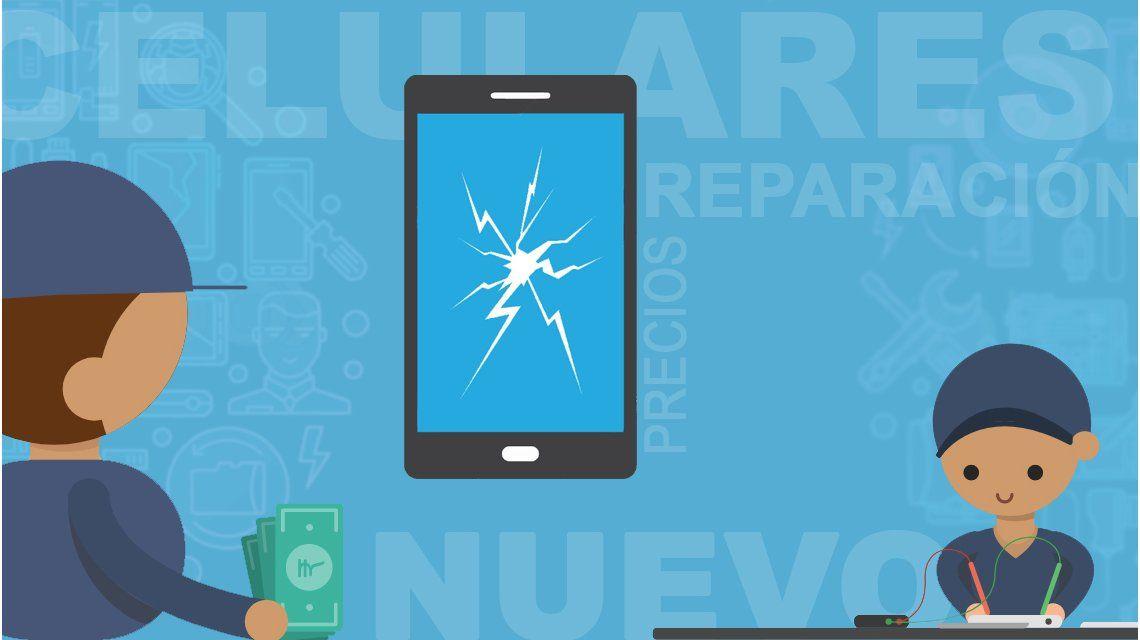 ¿Cuánto sale arreglar la pantalla de tu celular?