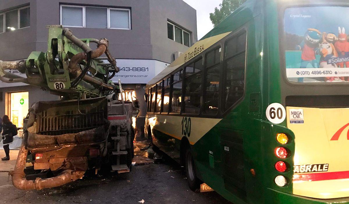 Cinco personas resultaron heridas