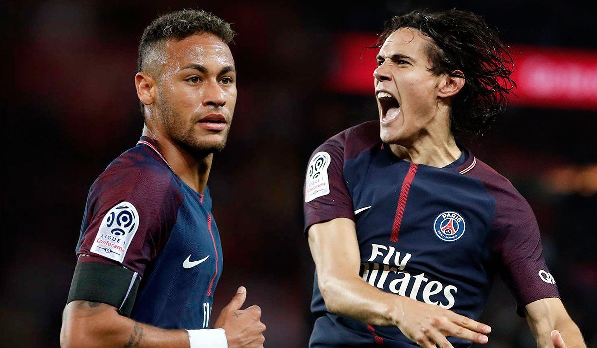¿La solución? Así resolvió el DT del PSG el conflicto entre Neymar y Cavani