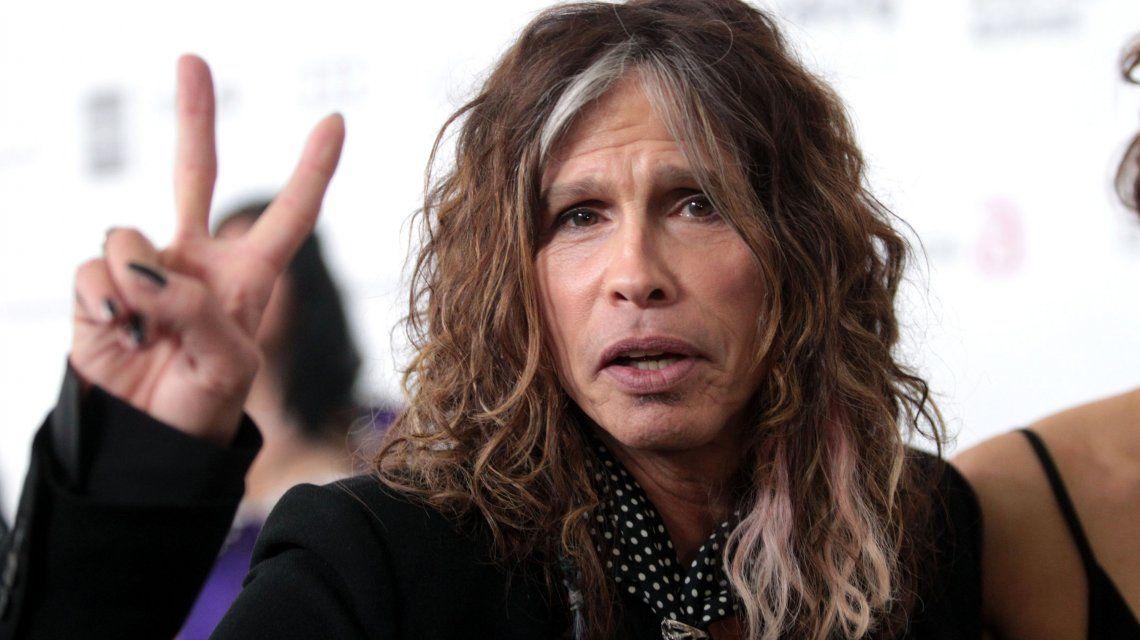 Aerosmith canceló su gira sudamericana por problemas de salud de Steven Tyler
