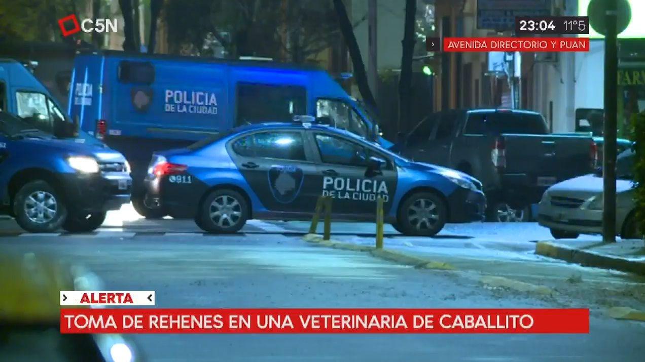 Policía de la Ciudad rehenes