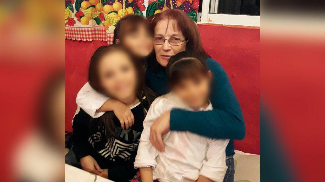 Norma estaba llevando material para buscar a su nieta Brisa desaparecida hace dos años