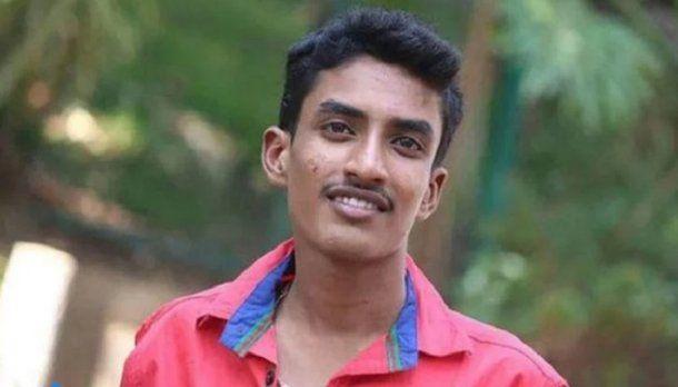 El joven tenía 17 años y fue identificado como Vishwas G