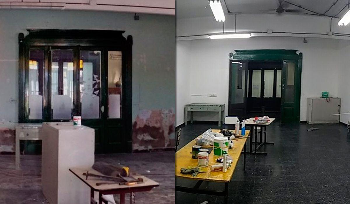 Ejemplar: así quedó un colegio porteño tras las tomas contra la reforma
