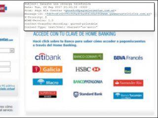 advierten por una campana informatica que roba clave y contrasena bancaria