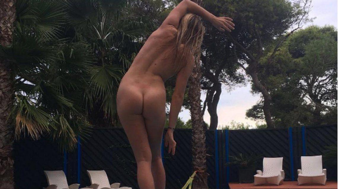 ¡Se volvió loca! Lisa Zimmermann se sacó una foto totalmente desnuda