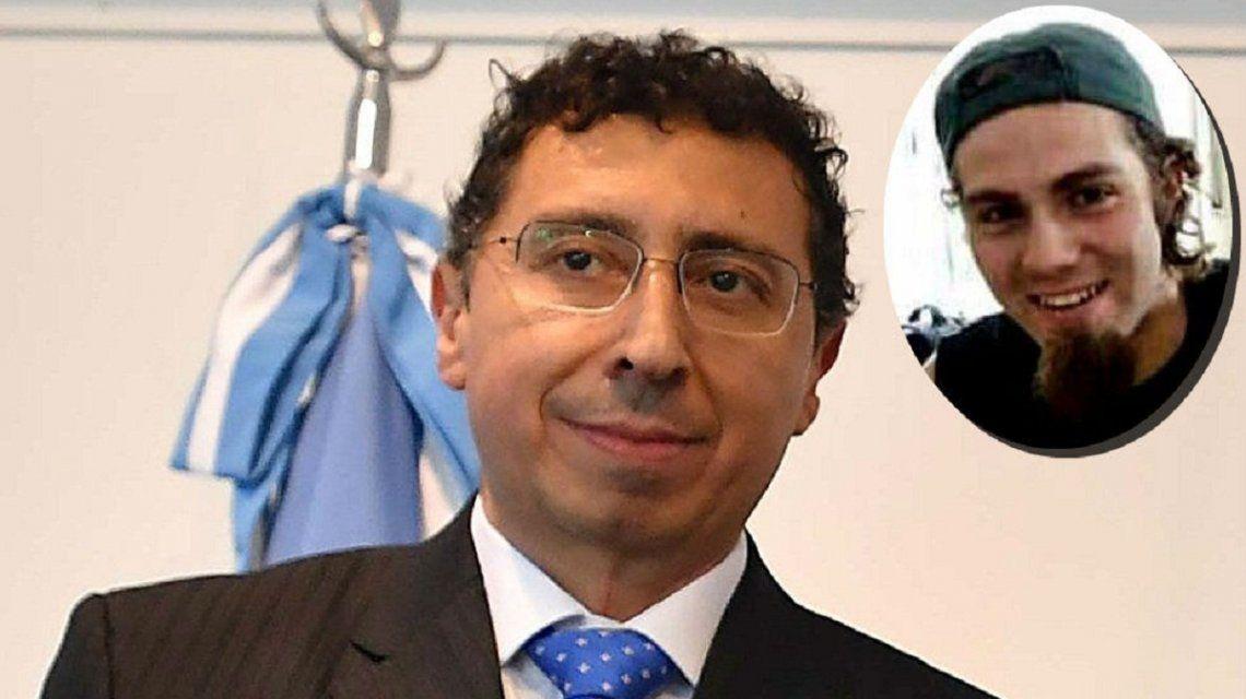 Gustavo Lleral y Santiago Maldonado