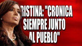 Cristina en Crónica